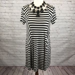 Finn & Clover stripe dress